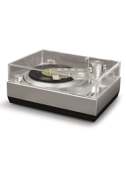 Crosley RSD3 Mini Turntable for 3-inch Vinyl Records, Silver - Rock and Soul DJ Equipment and Records