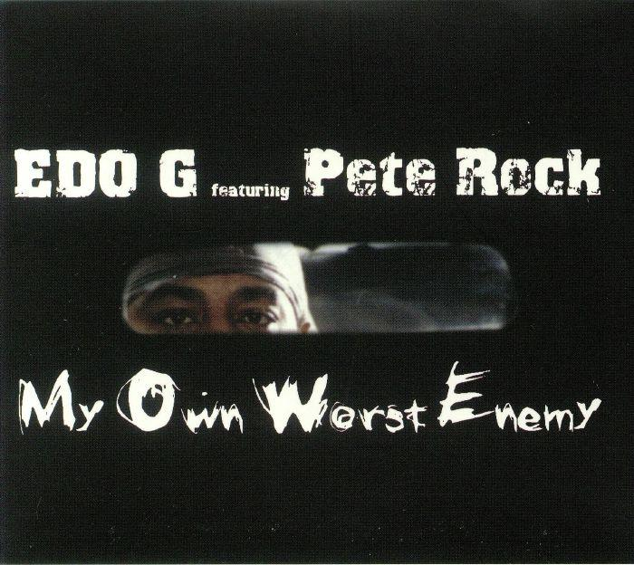 Edo G featuring Pete Rock - My Own Worst Enemy-LP(x2) - Rock and Soul DJ Equipment and Records