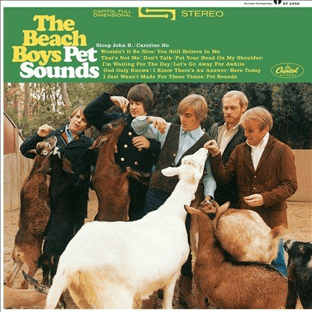 The Beach Boys - PET SOUNDS [LP] - Rock and Soul DJ Equipment and Records