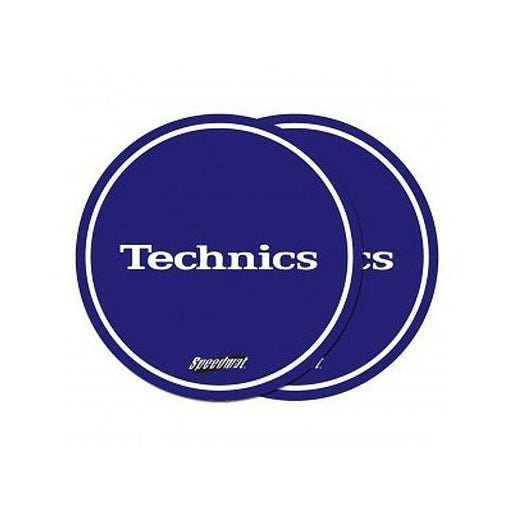 Technics Speedmat Slipmats (Royal Blue, White Logo)