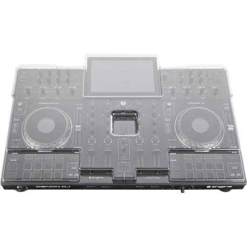 Decksaver Cover for Denon Prime 4 Controller - Rock and Soul DJ Equipment and Records