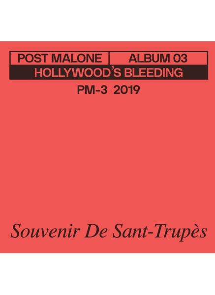 Post Malone 3 Inch Vinyl Record - Saint-Tropez - Rock and Soul DJ Equipment and Records