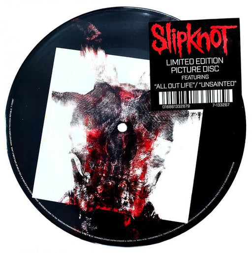 Slipknot - All Out Life/Unsainted [7''] (Picture Disc, limited to 5000, indie-exclusive)
