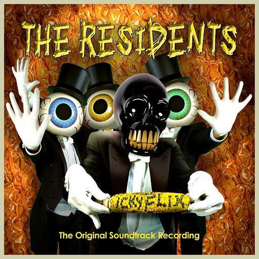 Residents, The - Icky Flix: The Original Soundtrack Recording [2LP] (Orange & Yellow Colored Vinyl, first time on vinyl, gatefold, limited to 1500, indie exclusive) - Rock and Soul DJ Equipme