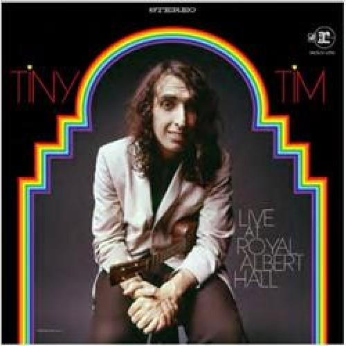 Tiny Tim - Live At Royal Albert Hall [2LP] (180 Gram, Translucent Red Vinyl, gatefold, insert, first time on vinyl, limited to 3000, RSD indie exclusive)