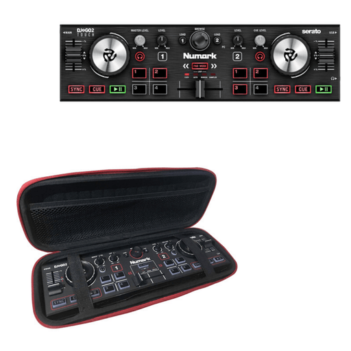 Numark DJ2GO2 Touch Pocket DJ Controller + ProX Case - Rock and Soul DJ Equipment and Records