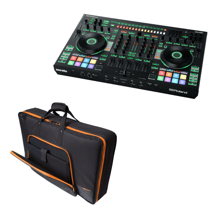 Roland DJ-808 DJ Controller + Free Controller Bag - Rock and Soul DJ Equipment and Records
