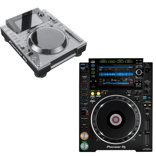 Pioneer DJ CDJ-2000NXS2 Pro-DJ Multi-Player (Open Box) + Dust Cover - Rock and Soul DJ Equipment and Records