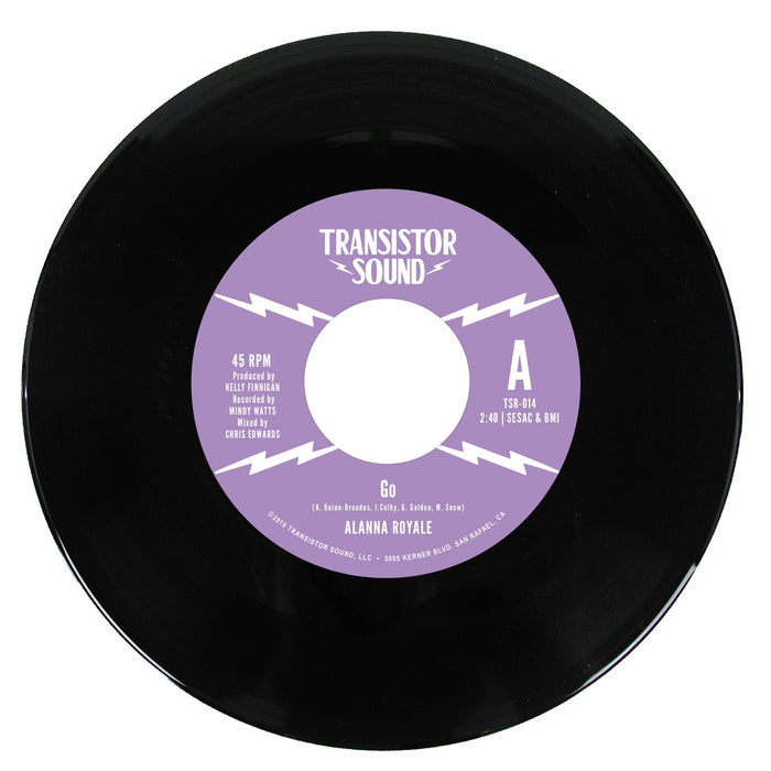 Alanna Royale - Go b/w I Know [7''] (indie-exclusive) - Rock and Soul DJ Equipment and Records