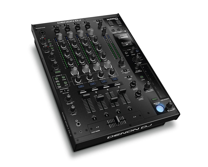 Denon X1850 PRIME Professional 4-Channel DJ Club Mixer - Rock and Soul DJ Equipment and Records