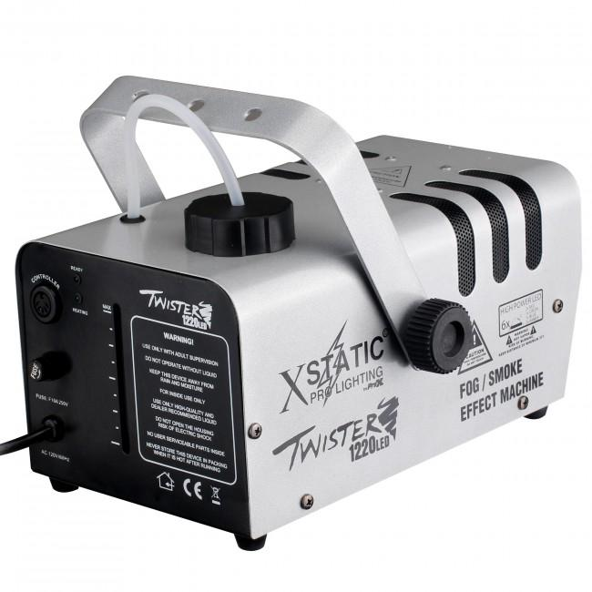ProX X-T1220 LED TWISTER Fog Machine 1220 Watt Water Based w RGBA LED - Rock and Soul DJ Equipment and Records