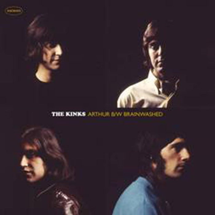 Kinks, The - Arthur / Brainwashed [7''] (Red Colored Vinyl, first time on vinyl, limited to 2500, indie-exclusive) - Rock and Soul DJ Equipment and Records