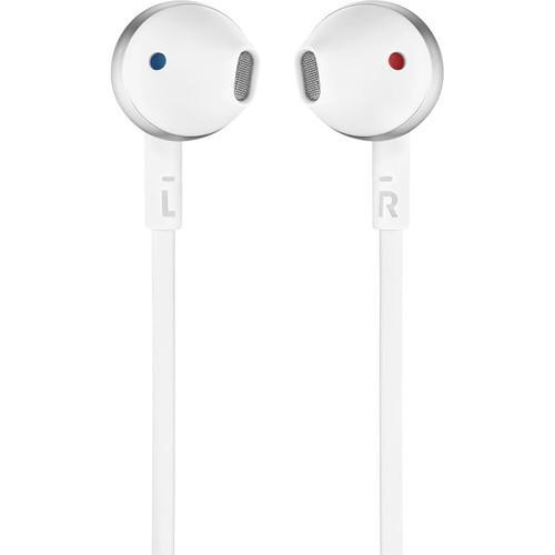 JBL T205 Earbud Headphones (Chrome)