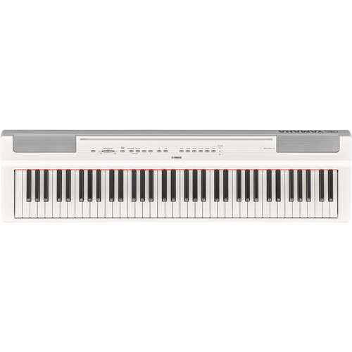 Yamaha P-121 73-Key Digital Piano (White) - Rock and Soul DJ Equipment and Records
