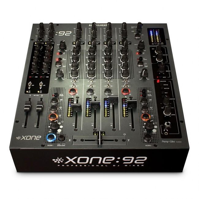 Allen & Heath Xone:92 Fader Professional 6 Channel Club/DJ Mixer