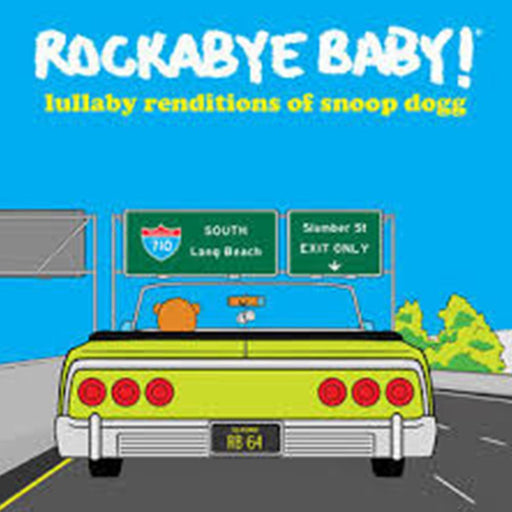 Rockabye Baby! - Lullaby Renditions Of Snoop Dogg [LP] (Yellow Colored Vinyl, limited to 1500, indie advanvce-exclusive) - Rock and Soul DJ Equipment and Records