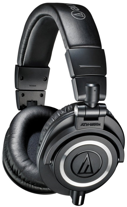 Audio Technica ATH-M50x Studio Headphones - Rock and Soul DJ Equipment and Records
