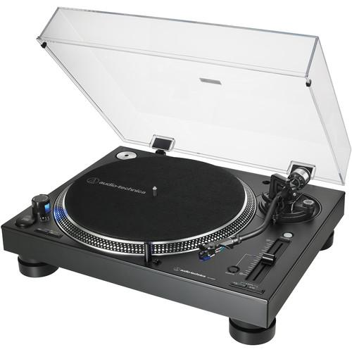 Audio-Technica Consumer AT-LP140XP Direct Drive Professional DJ Turntable (Black) - Rock and Soul DJ Equipment and Records
