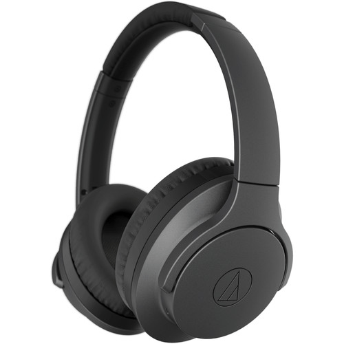 Audio-Technica Consumer ATH-ANC700BT QuietPoint Active Noise-Canceling Headphones (Black) - Rock and Soul DJ Equipment and Records