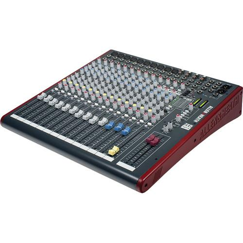 Allen & Heath ZED-16FX 16-Channel Recording and Live Sound Mixer with FX & USB - Rock and Soul DJ Equipment and Records
