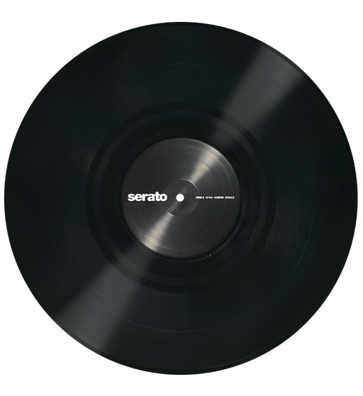 "12"" Serato Control Vinyl, Performance Series Official 2xLP in Black - Rock and Soul DJ Equipment and Records"
