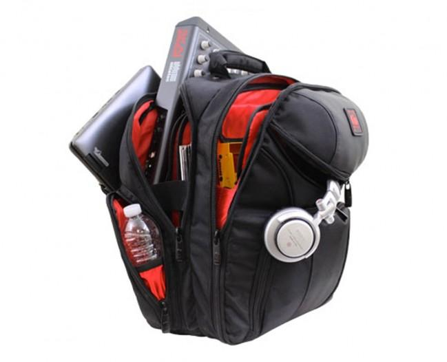 Odyssey BRLBACKSPIN2 Redline Series Backspin Digital Gear Backpack - Rock and Soul DJ Equipment and Records