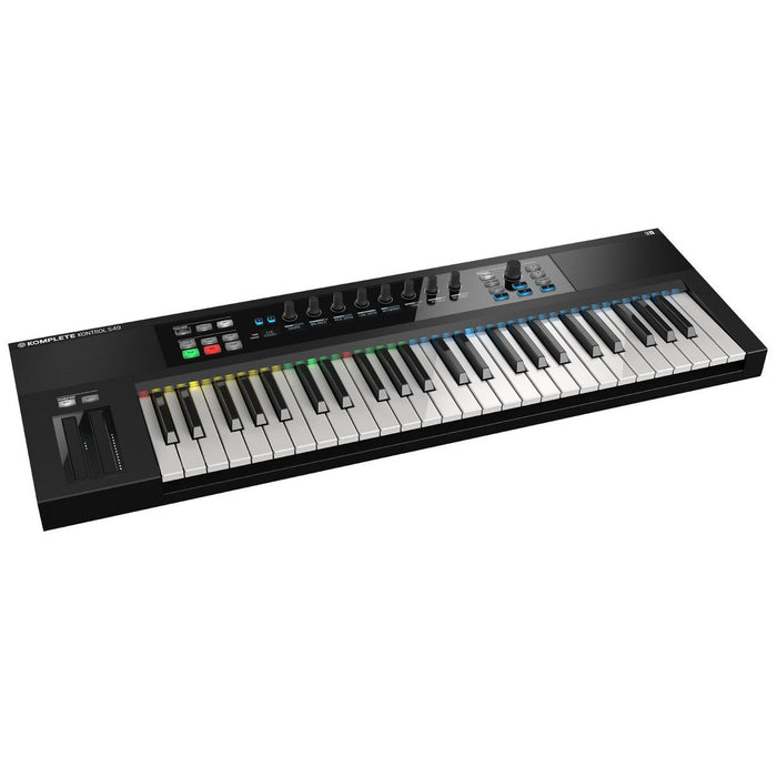 Native Instruments Komplete Kontrol S49 - Rock and Soul DJ Equipment and Records