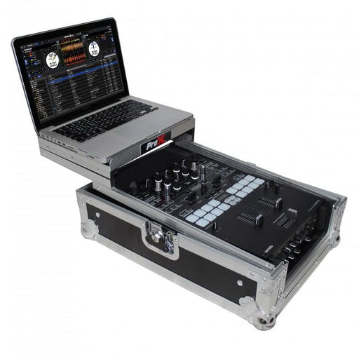 ProX fits Pioneer DJM-S9 Mixer Flight Case with Sliding Laptop Shelf