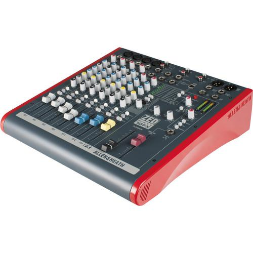 Allen & Heath ZED60-10FX - 6 Channel Mixer with Digital Effects and USB Connectivity