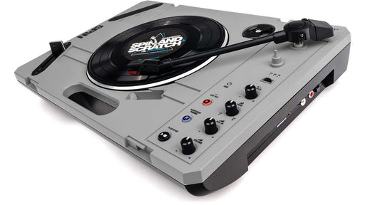 Reloop SPiN Portable Turntable with Scratch Vinyl