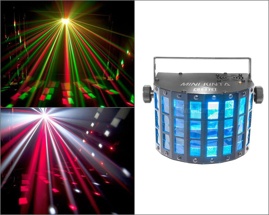 Chauvet Mini Kinta DMX Multi Color 3W LED Beams - Rock and Soul DJ Equipment and Records