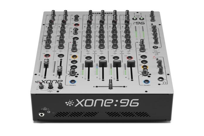 Allen & Heath XONE:96 Professional 6-Channel Analog DJ Mixer (Open Box) - Rock and Soul DJ Equipment and Records