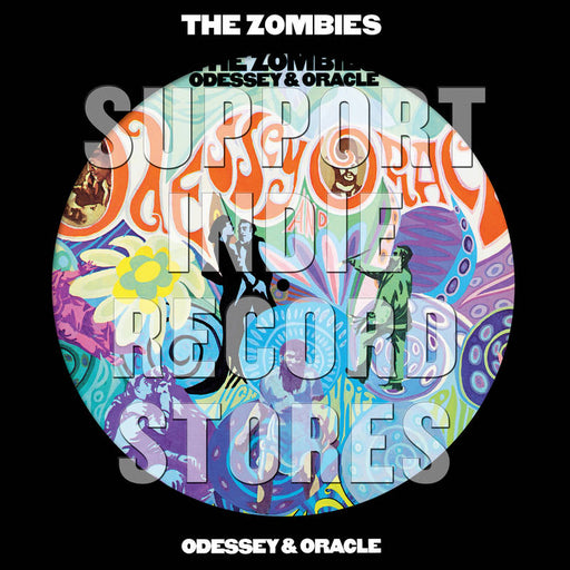 Zombies, The-Odessey and Oracle Picture Disc-LP Picture Disc - Rock and Soul DJ Equipment and Records