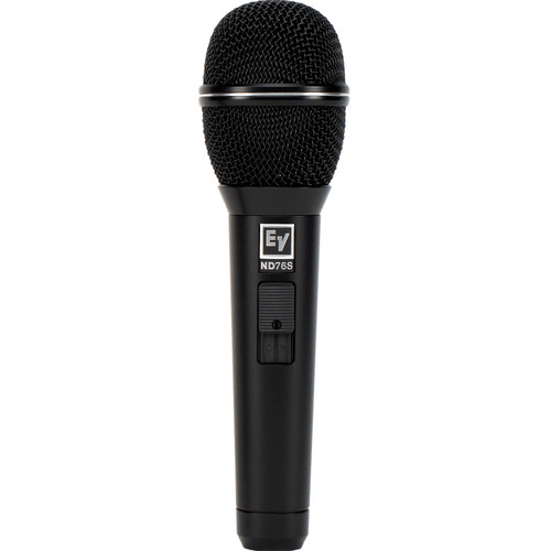 Electro-Voice ND76S Dynamic Cardioid Vocal Microphone with Mute/Unmute Switch - Rock and Soul DJ Equipment and Records