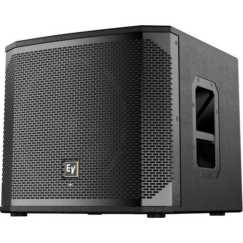 "Electro-Voice ELX200-12SP 12"" 1200W Powered Subwoofer (Black, Single) - Rock and Soul DJ Equipment and Records"
