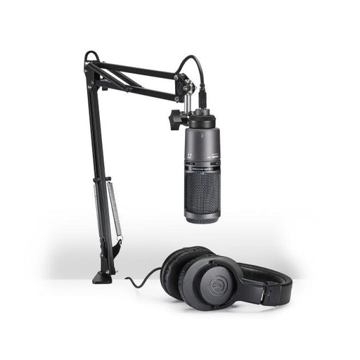 Audio Technica AT2020USB+PK Streaming/Podcasting Pack - Rock and Soul DJ Equipment and Records