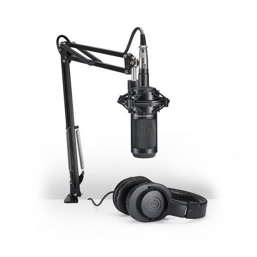 Audio Technica AT2035PK Streaming/Podcasting Pack - Rock and Soul DJ Equipment and Records