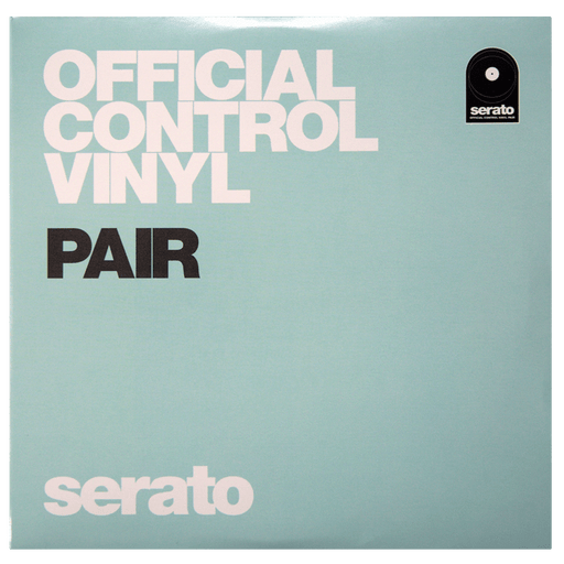 "Serato 7"" Control Vinyl (Pair, Glow in the Dark)"