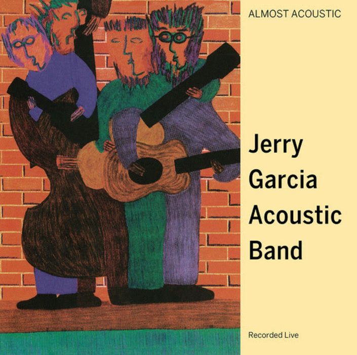 Jerry Garcia Acoustic Band-Almost Acoustic [2 LP][Green Marbled]-LP(x2) - Rock and Soul DJ Equipment and Records