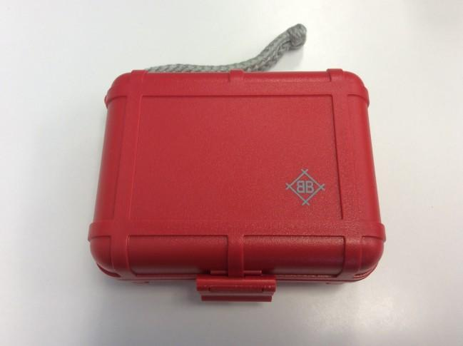 Stokyo Black Box Cartridge Case - Red - Rock and Soul DJ Equipment and Records