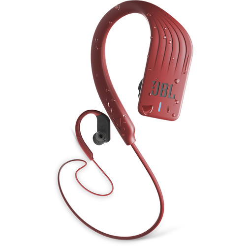 JBL Endurance SPRINT Waterproof Wireless In-Ear Headphones (Red) - Rock and Soul DJ Equipment and Records