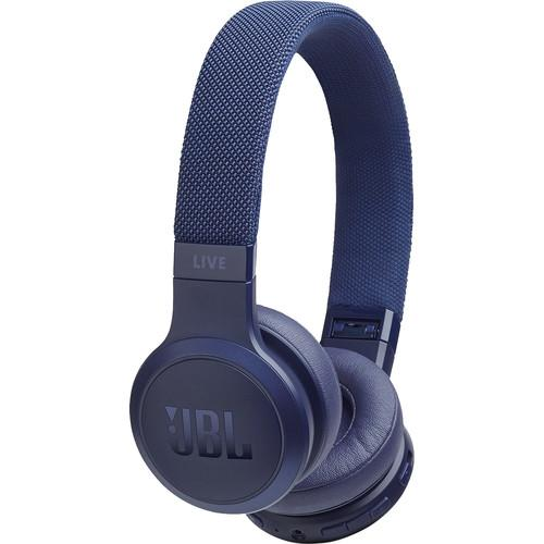 JBL LIVE 400BT Wireless On-Ear Headphones (Blue) - Rock and Soul DJ Equipment and Records