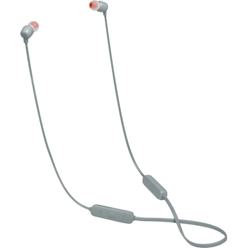 JBL TUNE 115BT Wireless In-Ear Headphones (Gray)