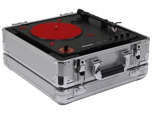 Odyssey KPT01SIL Numark PT01 Scratch Portablist Turntable Case