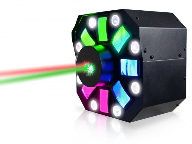 Technical Pro Professional DJ Multi Pattern Laser & LED Stage Effect Light with DMX - Rock and Soul DJ Equipment and Records