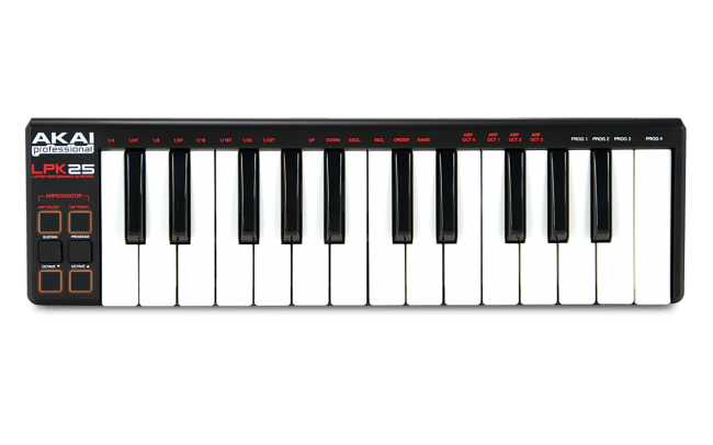 Akai Professional LPK25 - USB Laptop Performance Keyboard - Rock and Soul DJ Equipment and Records