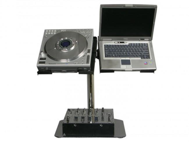 Odyssey LUNISPDB Laptop & CD Player Stand - Rock and Soul DJ Equipment and Records
