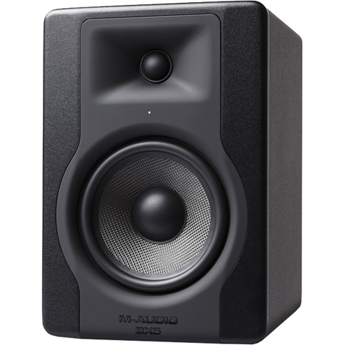 "M-Audio BX5 D3 5"" 2-Way 100W Powered Studio Monitor (Single) - Rock and Soul DJ Equipment and Records"