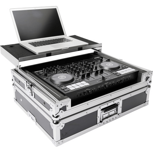 Magma Bags DJ-Controller Workstation Road Case for DJ-707M (Black/Silver)