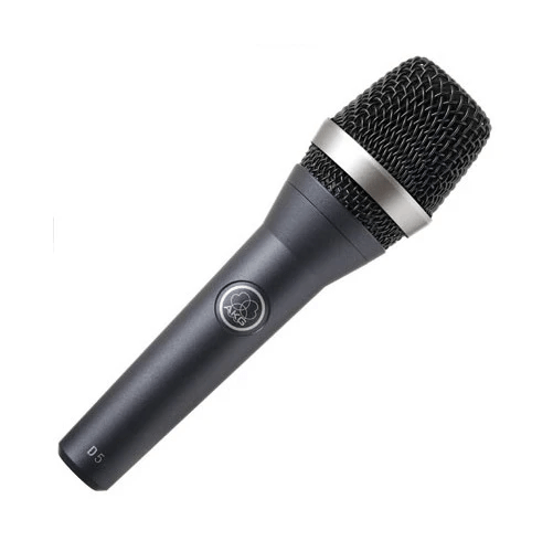 AKG D5 Handheld Supercardioid Dynamic Vocal Microphone - Without On / Off Switch - Rock and Soul DJ Equipment and Records